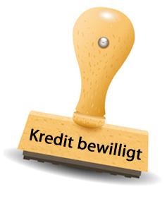 Darlehen wurde bewilligt - Bon-Kredit